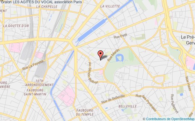 plan association Les Agites Du Vocal