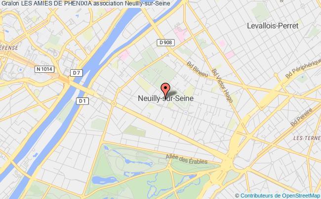 plan association Les Amies De Phenixia Neuilly-sur-Seine