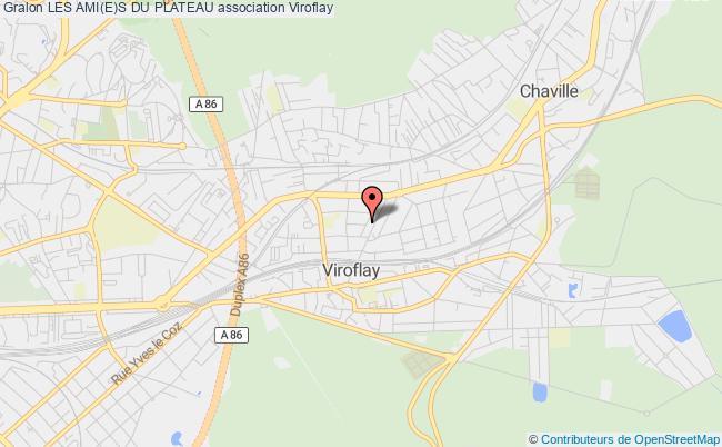 plan association Les Ami(e)s Du Plateau