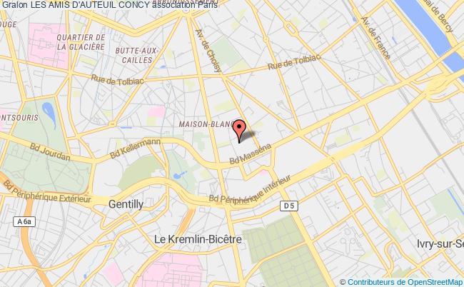 plan association Les Amis D'auteuil Concy