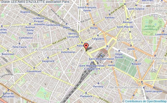 plan association Les Amis D'azolette