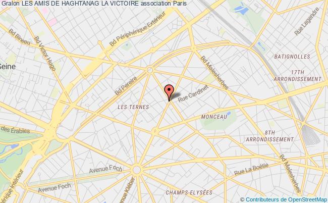 plan association Les Amis De Haghtanag La Victoire Paris