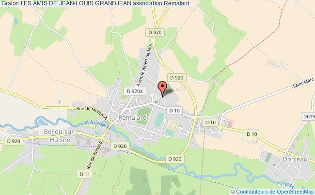 plan association Les Amis De Jean-louis Grandjean