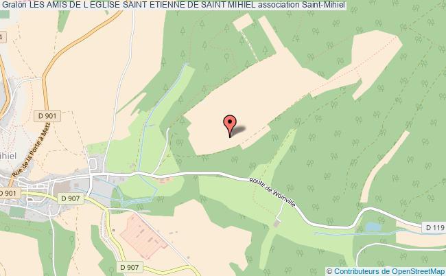 plan association Les Amis De L Eglise Saint Etienne De Saint Mihiel
