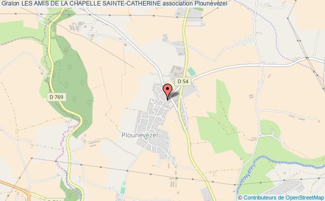 plan association Les Amis De La Chapelle Sainte-catherine
