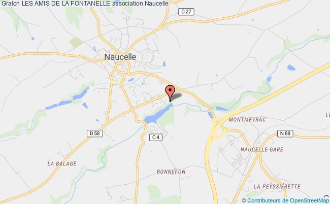 plan association Les Amis De La Fontanelle Naucelle