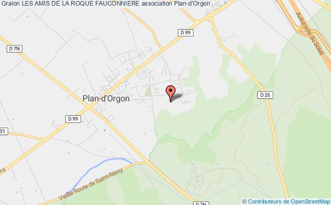 plan association Les Amis De La Roque Fauconniere