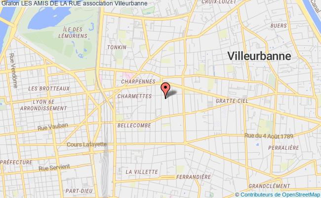 plan association Les Amis De La Rue
