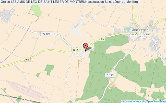 plan association Les Amis De LÉo De Saint LÉger De Montbrun