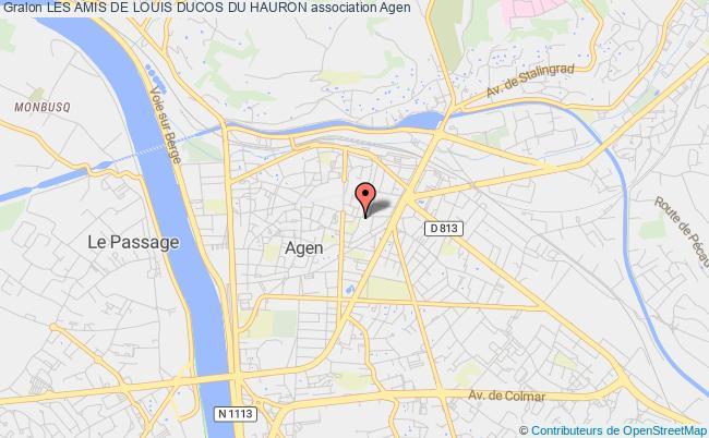plan association Les Amis De Louis Ducos Du Hauron