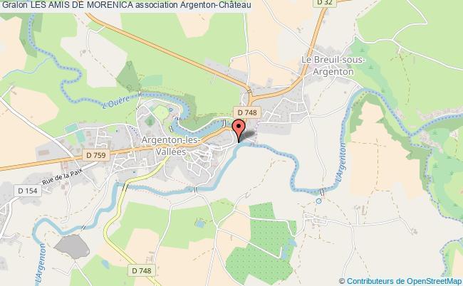 plan association Les Amis De Morenica
