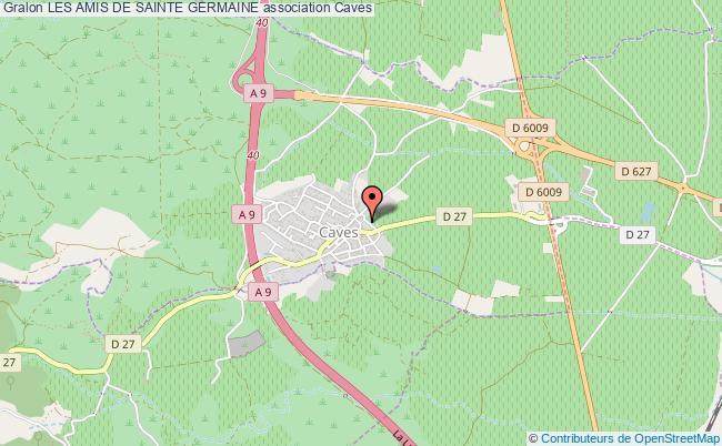 plan association Les Amis De Sainte Germaine