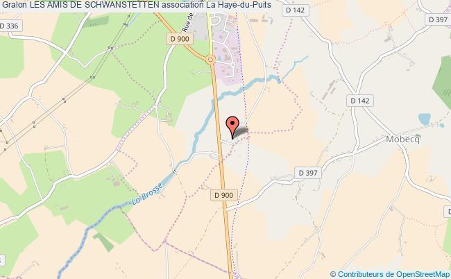plan association Les Amis De Schwanstetten La    Haye-du-Puits