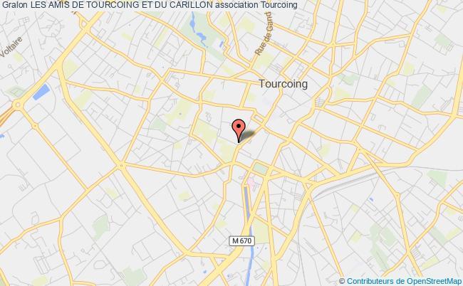 plan association Les Amis De Tourcoing Et Du Carillon
