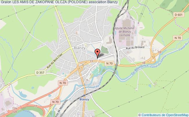 plan association Les Amis De Zakopane Olcza (pologne)