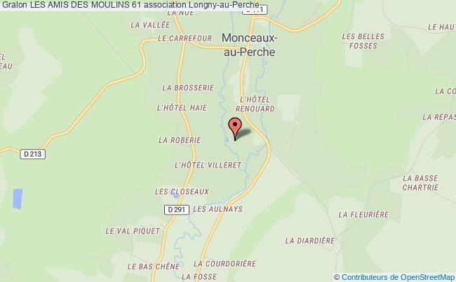 plan association Les Amis Des Moulins 61