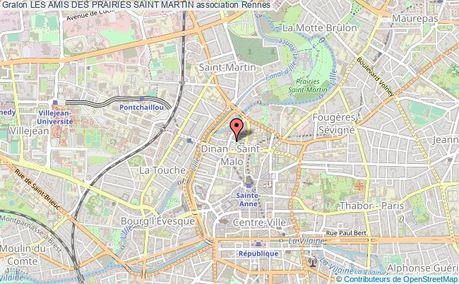 plan association Les Amis Des Prairies Saint Martin