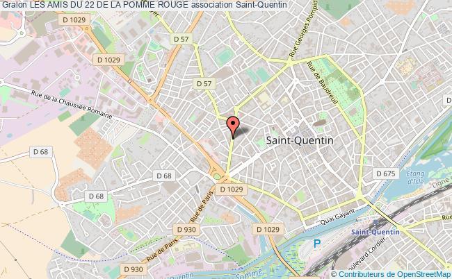 plan association Les Amis Du 22 De La Pomme Rouge