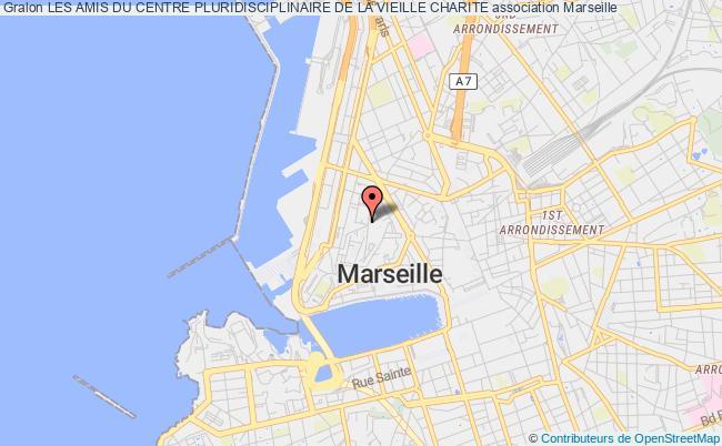 plan association Les Amis Du Centre Pluridisciplinaire De La Vieille Charite Marseille 2e