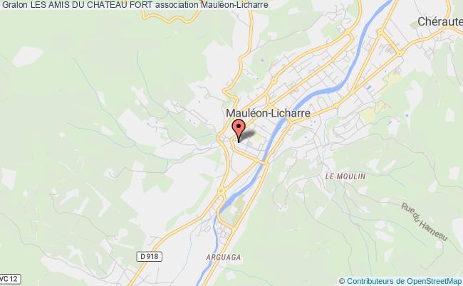 plan association Les Amis Du Chateau Fort