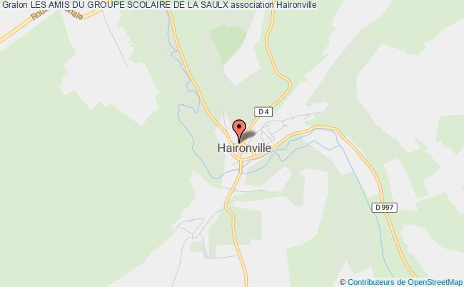 plan association Les Amis Du Groupe Scolaire De La Saulx