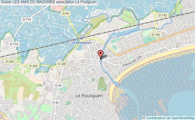 plan association Les Amis Du Maghreb