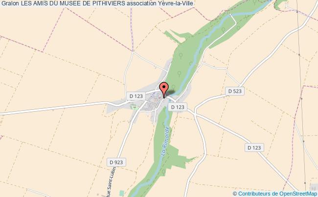 plan association Les Amis Du Musee De Pithiviers