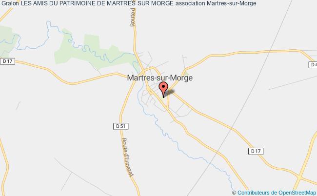 plan association Les Amis Du Patrimoine De Martres Sur Morge