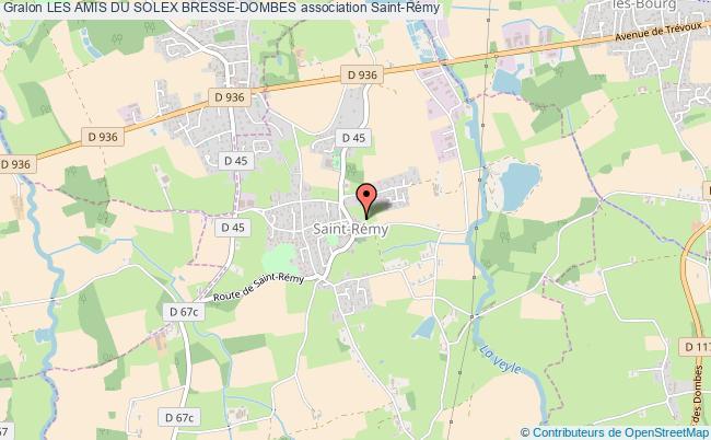 plan association Les Amis Du Solex Bresse-dombes Saint-Rémy