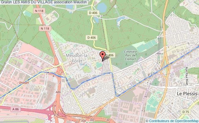 plan association Les Amis Du Village