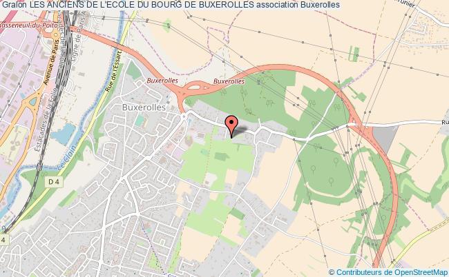 plan association Les Anciens De L'ecole Du Bourg De Buxerolles