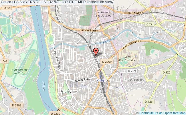 plan association Les Anciens De La France D'outre-mer