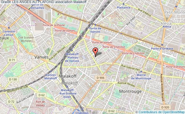 plan association Les Anges Au Plafond Malakoff