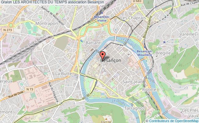 plan association Les Architectes Du Temps