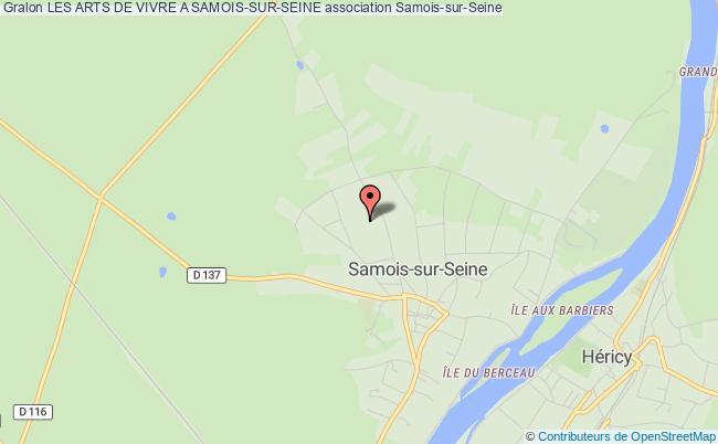 plan association Les Arts De Vivre A Samois-sur-seine Samois-sur-Seine