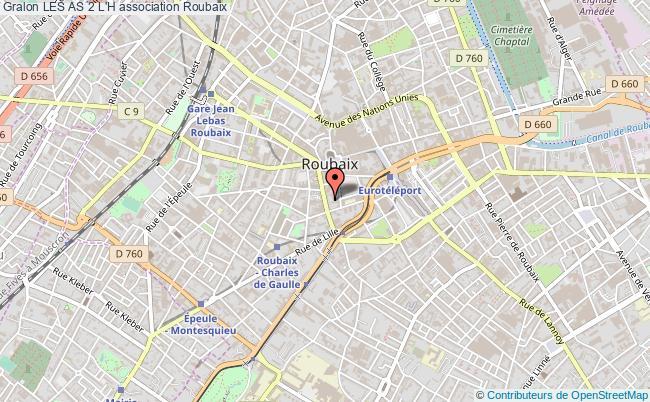 plan association Les As 2 L'h Roubaix