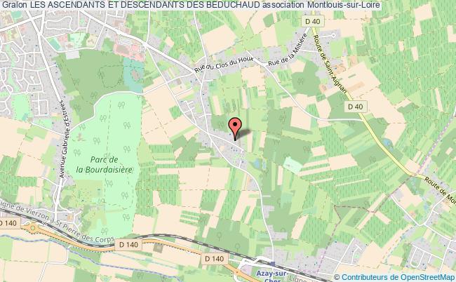 plan association Les Ascendants Et Descendants Des Beduchaud