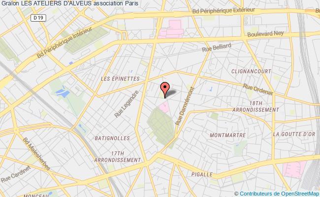 plan association Les Ateliers D'alveus