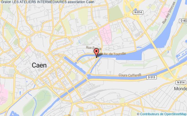 plan association Les Ateliers Intermediaires Caen