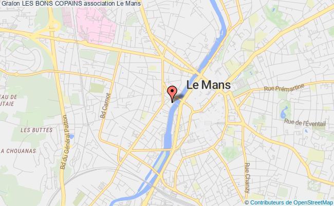 plan association Les Bons Copains