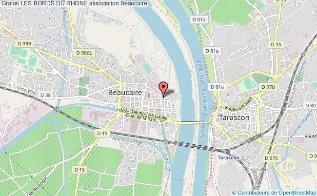 plan association Les Bords Du Rhone