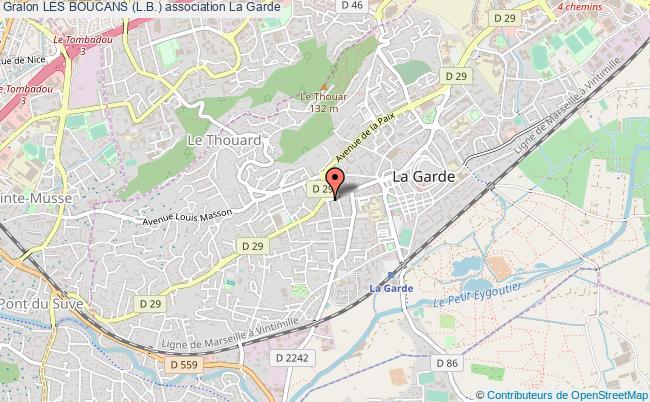 plan association Les Boucans (l.b.)
