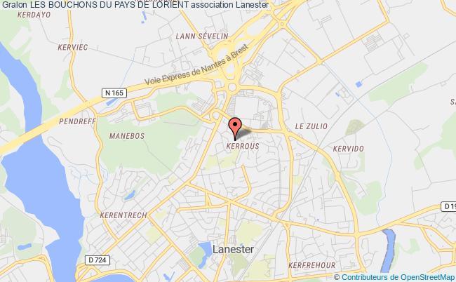 plan association Les Bouchons Du Pays De Lorient