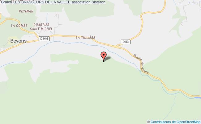 plan association Les Brasseurs De La Vallee