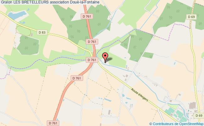 plan association Les Bretelleurs Doué-en-Anjou