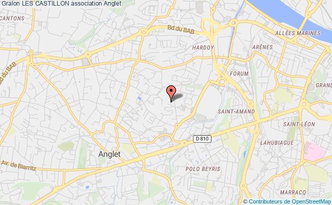 plan association Les Castillon