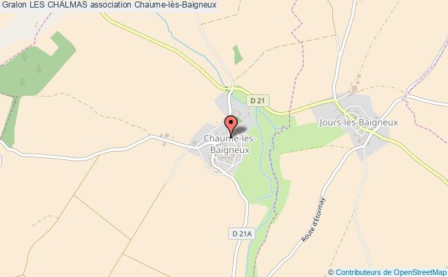 plan association Les Chalmas