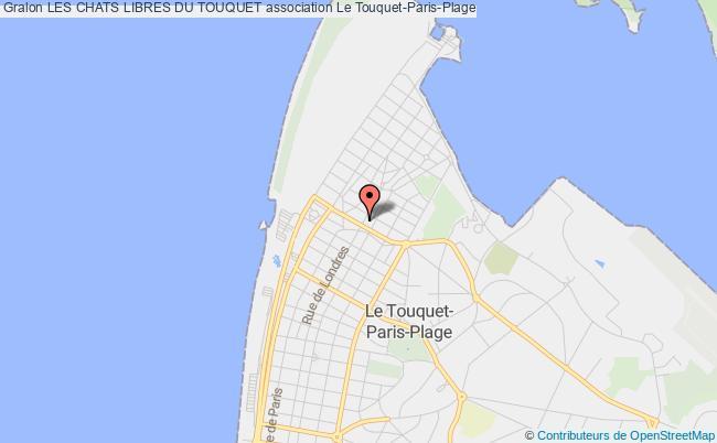 plan association Les Chats Libres Du Touquet Le    Touquet-Paris-Plage
