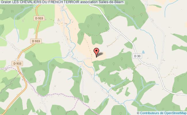 plan association Les Chevaliers Du French Terroir