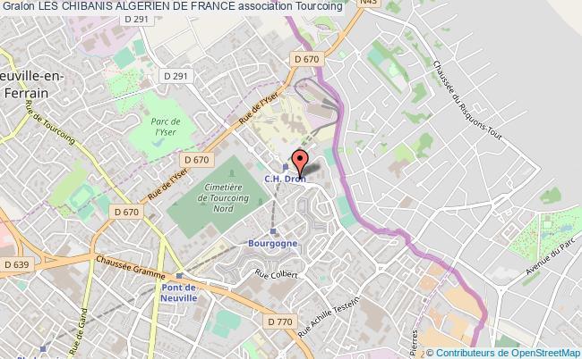 plan association Les Chibanis Algerien De France